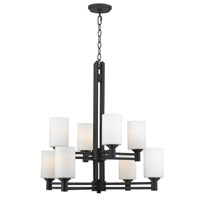 Kenroy Lighting Slender 8 Light Chandelier in Oil Rubbed Bronze   91938ORB