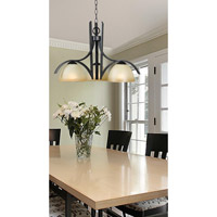 Kenroy Lighting Cypress 3 Light Chandelier in Oil Rubbed Bronze   91953ORB photo thumbnail