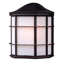 Alcove 1 Light 10 inch Oil Rubbed Bronze Outdoor Wall Lantern