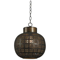 Seville 1 Light 10 inch Aged Bronze Mini Pendant Ceiling Light