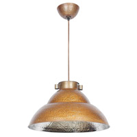 Kenroy Lighting Indus 1 Light Pendant in Bronze/Nickel 92074BRZNIK