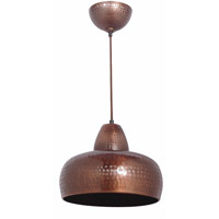 Kenroy Lighting Bazaar 1 Light Pendant in Antique Copper 92083AC