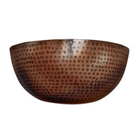 Kenroy Lighting Bazaar 1 Light Sconce in Antique Copper 92085AC