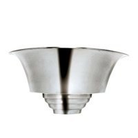 Spinnaker 1 Light 7 inch Brushed Steel Sconce Wall Light