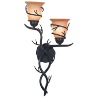 Kenroy Lighting Twigs 2 Light Wall Sconce in Bronze   92136BRZ