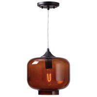 Kenroy Lighting Jones 1 Light Pendant in Oil Rubbed Bronze 93006ORB
