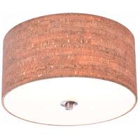 Kenroy Lighting 93010BSORB Bulletin 2 Light 15 inch Oil Rubbed Bronze Flush Mount Ceiling Light