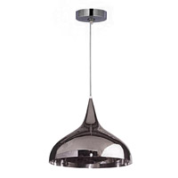 Kenroy Lighting Minaret 1 Light Pendant in Polished Nickel 93028PN