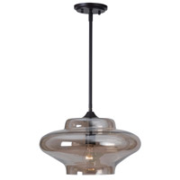 Kenroy Lighting Sanborn 1 Light Pendant in Oil Rubbed Bronze 93036AMB