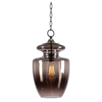 Kenroy Lighting Apothecary 1 Light Pendant in Graphite 93037GR