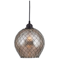 Kenroy Lighting 93038AMER Nillo 1 Light 9 inch Oil Rubbed Bronze Pendant Ceiling Light