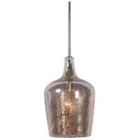 Kenroy Lighting Pi 1 Light Pendant in Chrome 93042ANT