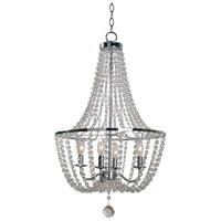 Celeste 4 Light 21 inch Chrome Chandelier Ceiling Light