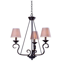 Basket 3 Light 23 inch Oil Rubbed Bronze Chandelier Ceiling Light