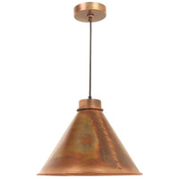 Cuprum 1 Light 18 inch Flamed Copper Pendant Ceiling Light