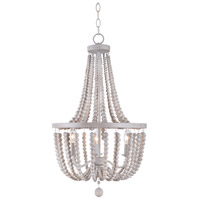 Kenroy Lighting 93131WW Dumas 3 Light 17 inch Weathered Wood Chandelier Ceiling Light
