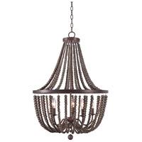Kenroy Lighting 93132GBRZ Dumas 5 Light 26 inch Golden Bronze Chandelier Ceiling Light