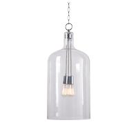 Kenroy Lighting 93213CH Capri 3 Light 18 inch Chrome Pendant Ceiling Light Extra Large
