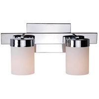 Eastlake 2 Light 6 inch Chrome Vanity Wall Light