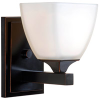 Helix 1 Light 7 inch Oil Rubbed Bronze Sconce Wall Light