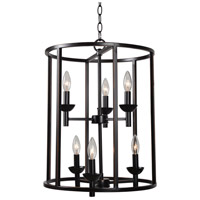 Kenroy Lighting 93266ORB Arlen 6 Light 19 inch Oil Rubbed Bronze Foyer Ceiling Light