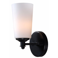 Kenroy Lighting Emperor 1 Light Sconce in Bronze Graphite 93280BRZG
