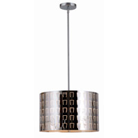 Kenroy Lighting Alexis 3 Light Pendant in Chrome 93311SS