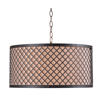 Kenroy Lighting Hawthorn 3 Light Pendant in Bronze 93312BRZ