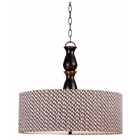 Kenroy Lighting Rumba 3 Light Pendant in Oil Rubbed Bronze 93315ORB
