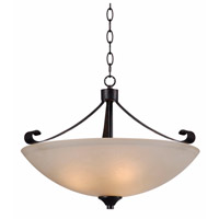 Kenroy Lighting Alto 3 Light Pendant in Chocolate Caramel 93323CHC