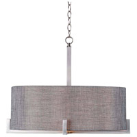 Wiley 4 Light 21 inch Brushed Steel Pendant Ceiling Light
