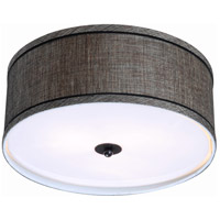Margot 2 Light 15 inch Oil Rubbed Bronze Flush Mount Ceiling Light