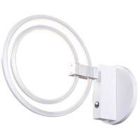 Kenroy Lighting 93359WH Aurora LED 14 inch White Wall Sconce Wall Light