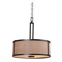 Keen 3 Light 19 inch Bronze Pendant Ceiling Light