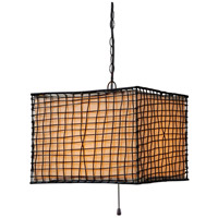 Kenroy Lighting Trellis 1 Light Outdoor Pendant in Bronze 93399BRZ