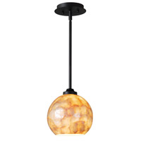 Kenroy Lighting Aden 1 Light Pendant in Oil Rubbed Bronze 93410CAP
