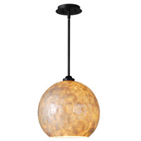 Kenroy Lighting Aden 1 Light Large Pendant in Oil Rubbed Bronze 93411CAP