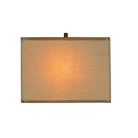 Kenroy Lighting Emilio 1 Light Sconce in Bronze 93420BRZ