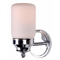 Kenroy Lighting Midtown 1 Light Sconce in Chrome 93461CH