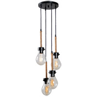 Kenroy Lighting 93468BRZ Keepsake 4 Light 21 inch Bronze Cluster Chandelier Ceiling Light