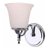 Rumson 1 Light 10 inch Chrome Sconce Wall Light