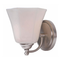 Woodhill 1 Light 7 inch Brushed Steel Sconce Wall Light