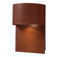 Moonlit 1 Light 8 inch Copper Outdoor Wall Lantern