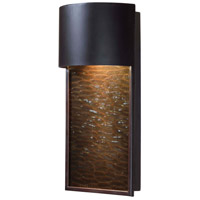 Kenroy Lighting Lightfall Dark Sky 1 Light Wall Lantern in Oil Rubbed Bronze 93546ORB