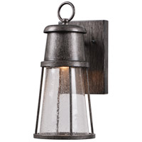 Harbinger LED 12 inch Tuscan Silver Outdoor Wall Lantern