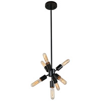 Anemone LED 8 inch Oil Rubbed Bronze Chandelier Ceiling Light