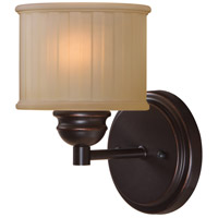 Barney 1 Light 8 inch Oil Rubbed Bronze Sconce Wall Light