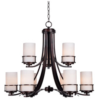 Theo 9 Light 29 inch Polished Copper Chandelier Ceiling Light