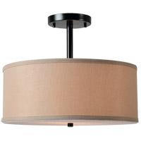 Kenroy Lighting 93623ORB Paige 2 Light 17 inch Oil Rubbed Bronze Semi Flush Mount Ceiling Light