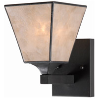Capell 1 Light 8 inch Bronze Sconce Wall Light